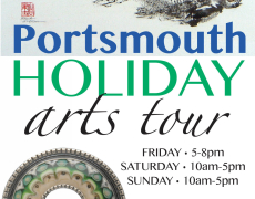 Portsmouth Holiday Arts Tour, Nov 18-20, 2016
