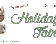 NH Audubon Holiday Fair Dec 9
